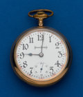 Timepieces:Pocket (post 1900), Illinois 21 Jewels Bunn Special, Gold Filled, 18 Size. ...
