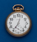 Timepieces:Pocket (post 1900), Illinois 60 Hour Bunn Special, 21 Jewel, 16 Size. ...