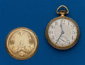 Timepieces:Pocket (post 1900), Waltham, 21 Jewel, 16 Size, Crescent Street. ...