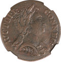 Colonials, 1785 COPPER Connecticut Copper, Bust Right XF45 NGC. M. 6.3-G.1,W-2400, R.3....