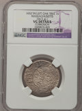 Colonials, 1652 SHILNG Oak Tree Shilling--Corrosion--NGC Details. VG. Crosby 9-H, Noe-1, W-430, R.3....
