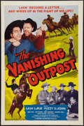 """Movie Posters:Western, The Vanishing Outpost (Western Adventures Pictures, 1951). One Sheet (27"""" X 41""""). Western.. ..."""