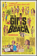 "Movie Posters:Rock and Roll, The Girls on the Beach Lot (Paramount, 1965). One Sheets (2) (27"" X41""). Rock and Roll.. ... (Total: 2 Items)"