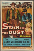 """Movie Posters:Western, Star in the Dust (Universal, 1956). One Sheet (27"""" X 41""""). Western.. ..."""