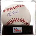 Baseball Collectibles:Balls, Yogi Berra Single Signed Baseball, PSA Mint+ 9.5....