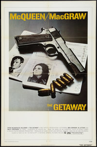 "The Getaway Lot (National General, 1972). One Sheets (2) (27"" X 41""). Action. ... (Total: 2 Items)"
