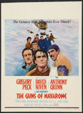 "Movie Posters:War, The Guns of Navarone (Columbia, 1961). Window Card (14"" X 18.75"").War.. ..."