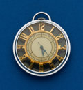 Timepieces:Pocket (post 1900), Swiss 10 Size Skeleton Pocket Watch. ...