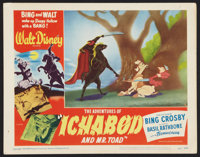 """The Adventures of Ichabod and Mr. Toad (RKO, 1949). Lobby Card (11"""" X 14""""). Animated"""