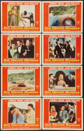 "Movie Posters:Action, The Devil's Hairpin (Paramount, 1957). Lobby Card Set of 8 (11"" X14""). Action.. ... (Total: 8 Items)"