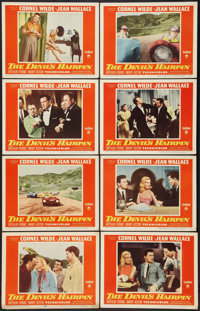"The Devil's Hairpin (Paramount, 1957). Lobby Card Set of 8 (11"" X 14""). Action. ... (Total: 8 Items)"