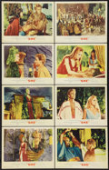 """Movie Posters:Fantasy, She (MGM, 1965). Lobby Card Set of 8 (11"""" X 14""""). Fantasy.. ... (Total: 8 Items)"""