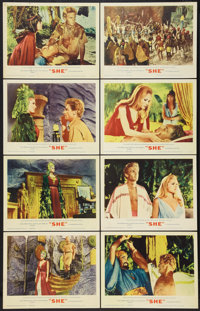 """She (MGM, 1965). Lobby Card Set of 8 (11"""" X 14""""). Fantasy. ... (Total: 8 Items)"""