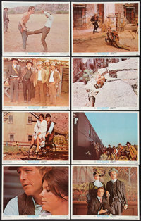 "Butch Cassidy and the Sundance Kid (20th Century Fox, 1969). Lobby Card Set of 8 (11"" X 14""). Western. ... (To..."