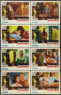 "Love with the Proper Stranger (Paramount, 1964). Lobby Card Set of 8 (11"" X 14""). Romance. ... (Total: 8 Items..."