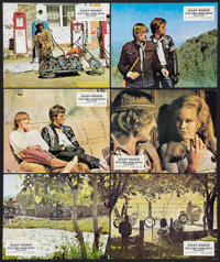 "Easy Rider (Columbia, 1969). German Lobby Cards (6) (9.5"" X 12""). Drama. ... (Total: 6 Items)"