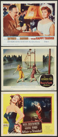 """Movie Posters:Miscellaneous, Rita Hayworth Lot (Various, 1947-1962). Lobby Cards (3) (11"""" X14""""). Miscellaneous.. ... (Total: 3 Items)"""