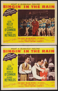 """Singin' in the Rain (MGM, 1952). Lobby Cards (2) (11"""" X 14""""). Musical. ... (Total: 2 Items)"""
