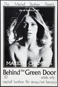 "Movie Posters:Adult, Behind the Green Door (Mitchell Brothers Film Group, 1972). Poster(24"" X 36""). Adult.. ..."