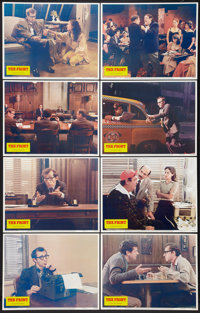 """The Front (Columbia, 1976). Lobby Card Set of 8 (11"""" X 14""""). Comedy. ... (Total: 8 Items)"""