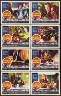 """Movie Posters:Horror, Planet of the Vampires (American International, 1965). Lobby Card Set of 8 (11"""" X 14""""). Horror.. ... (Total: 8 Items)"""