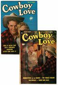 "Golden Age (1938-1955):Romance, Cowboy Love #5 and 9 Davis Crippen (""D"" Copy) pedigree Group(Fawcett, 1949-50).... (Total: 2 Comic Books)"