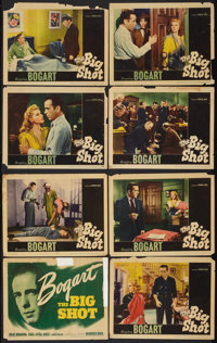 """The Big Shot (Warner Brothers, 1942). Lobby Card Set of 8 (11"""" X 14""""). Crime. ... (Total: 8 Items)"""