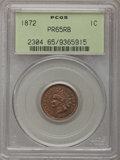 Proof Indian Cents, 1872 1C PR65 Red and Brown PCGS....