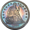 Proof Seated Dollars, 1868 $1 --Artificial Toning--NGC Details. Proof....