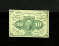 Fractional Currency:First Issue, Fr. 1242 10c First Issue Very Fine....
