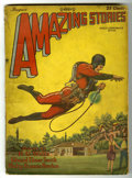 Pulps:Science Fiction, Amazing Stories V3#5 (Ziff-Davis, 1928) Condition: GD....