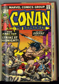 Bronze Age (1970-1979):Miscellaneous, Conan the Barbarian #33-48 Bound Volume (Marvel, 1973-75) ....