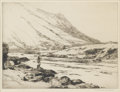 Prints:European Modern, NORMAN WILKINSON (British, 1878-1971). Fisherman. Etching.8-3/4in. x 11-3/4in.. Signed in pencil at lower right Norma...(Total: 1 Item)
