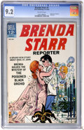 Silver Age (1956-1969):Romance, Brenda Starr #1 (Dell, 1963) CGC NM- 9.2 Off-white pages....