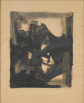 Prints:American, JOHN GRILLO (American, b. 1917). Abstraction, 1960.Lithograph. 24in. x 20in.. Signed in pencil at lower rightGrillo ... (Total: 1 Item)