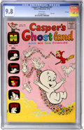 Bronze Age (1970-1979):Cartoon Character, Casper's Ghostland #57 File Copy (Harvey, 1970) CGC NM/MT 9.8 Whitepages....