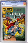 Golden Age (1938-1955):Classics Illustrated, Classics Illustrated #53 A Christmas Carol - Vancouver pedigree (Gilberton, 1948) CGC VF/NM 9.0 White pages....