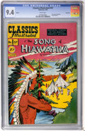 Golden Age (1938-1955):Classics Illustrated, Classics Illustrated #57 The Song of Hiawatha First Edition -Vancouver pedigree (Gilberton, 1949) CGC NM 9.4 White pages....