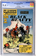 Golden Age (1938-1955):Classics Illustrated, Classics Illustrated #60 Black Beauty First Edition - Vancouver pedigree (Gilberton, 1949) CGC NM 9.4 White pages....