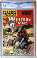 Golden Age (1938-1955):Western, Classics Illustrated #62 Bret Hartes's Western Stories FirstEdition - Vancouver pedigree (Gilberton, 1949) CGC NM+ 9.6 White...
