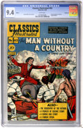 Golden Age (1938-1955):Classics Illustrated, Classics Illustrated #63 The Man Without a Country First Edition - Vancouver pedigree (Gilberton, 1949) CGC NM 9.4 White pages...