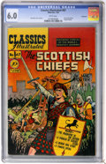 Golden Age (1938-1955):Classics Illustrated, Classics Illustrated #67 The Scottish Chiefs First Edition - Vancouver pedigree (Gilberton, 1950) CGC FN 6.0 White pages....