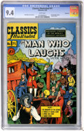 Golden Age (1938-1955):Classics Illustrated, Classics Illustrated #71 The Man Who Laughs First Edition - Vancouver pedigree (Gilberton, 1950) CGC NM 9.4 White pages....