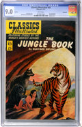 Golden Age (1938-1955):Classics Illustrated, Classics Illustrated #83 The Jungle Book First Edition - Vancouverpedigree (Gilberton, 1951) CGC VF/NM 9.0 White pages....