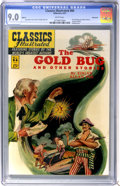 Golden Age (1938-1955):Classics Illustrated, Classics Illustrated #84 The Gold Bug and Other Stories FirstEdition - Vancouver pedigree (Gilberton, 1951) CGC VF/NM 9.0 Whi...