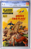 Golden Age (1938-1955):Classics Illustrated, Classics Illustrated #86 Under Two Flags First Edition - Vancouver pedigree (Gilberton, 1951) CGC NM- 9.2 White pages....