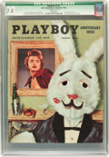 Magazines:Vintage, Playboy V2#1 (HMH Publishing, 1954) CGC Qualified FN/VF 7.0 White pages....