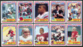 Football Cards:Sets, 1984 Topps U.S.F.L. Football Complete Set (132). ...