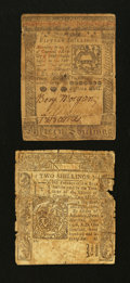 Colonial Notes:Connecticut, A Connecticut and a Pennsylvania.. ... (Total: 2 notes)