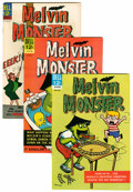 Silver Age (1956-1969):Humor, Melvin Monster #1-10 File Copies Group (Dell, 1965-69) Condition: Average VF+.... (Total: 10 Comic Books)